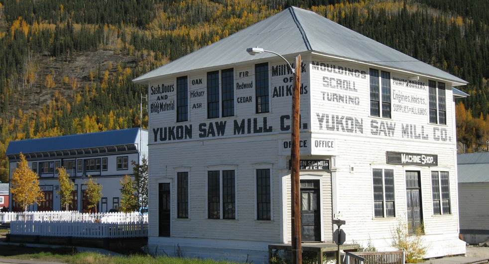 Yukon Register of Historic Places - Yukon Sawmill Company Office