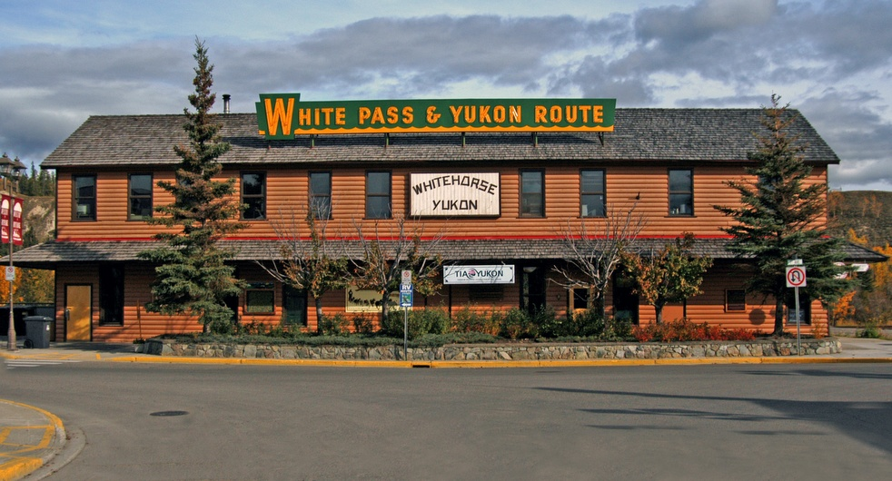White Pass & Yukon Route Railway Depot